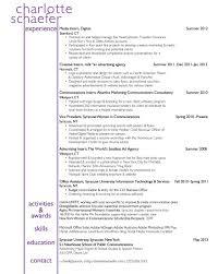 Advertising Internship Resume Advertising Agency Sample Resume 22