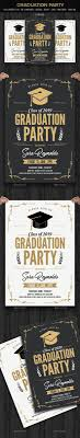 Graduation Flyer Template Graduation Invitation Graduation Invitation Cards Card Templates 21