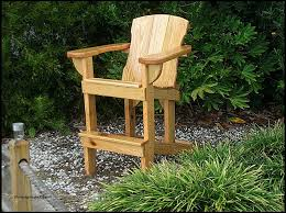 adirondack balcony pub table tall deck chairs with arms chair plans bar stool for tall adirondack