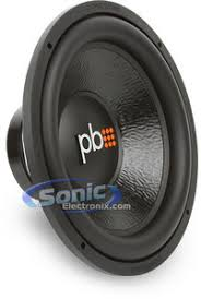 powerbass m d md dual ohm autosound subwoofer powerbass m 154d
