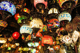 crystal lamps for sale. Download Crystal Lamps For Sale On The Grand Bazaar At Istanbul Stock Image - Of T