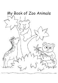 Zoo Coloring Page Zoo Coloring Page Z Is For Animal Alphabet Pages