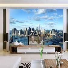 <b>beibehang Custom 3d photo</b> wall paper architecture New York City ...