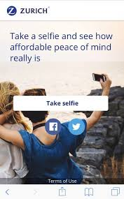 Zurich Life Insurance Quote Gorgeous Let Your Selfie Do The Work And Get You An Instant Life Insurance