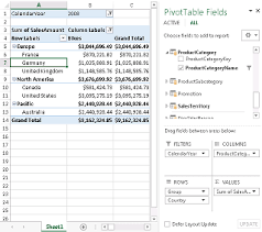 Use Multiple Tables To Create A Pivottable Excel
