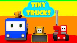 Tiny Trucks The Cinema Learn With Tiny Trucks Bulldozer Crane Excavator