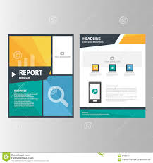 blue green annual report brochure flyer presentation template blue orange green annual report presentation template elements icon flat design set for advertising marketing brochure