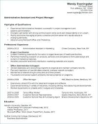 Sample Resume For Administrative Assistants Sample Resume Administrative Assistant Customer Service Best Of