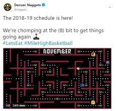 Denver Nuggets Interactive Seating Chart Nuggets Get Creative With Schedule Release Denver Nuggets