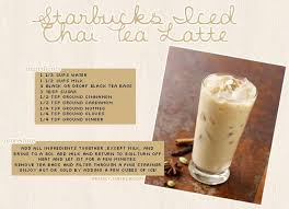 starbucks iced chai tea latte i found a recipe and tweaked it a bit i tried out the recipe a few hours ago and it turned out sooo good