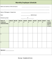 scheduling templates for employee scheduling monthly employee schedule template 8ws templates forms