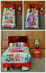 Shoebox Bedroom Diy Barbie Bed Out Of A Shoebox Or Cereal Box Be A Fun Mum