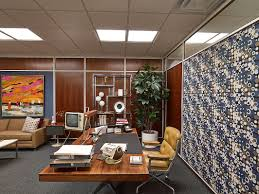 Mens Office Decor Tour Mad Mens Swinging Groovy Sets Men Office Offices And Coffee