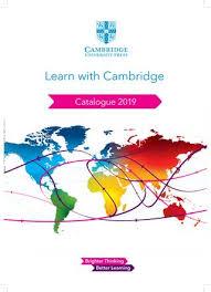 International Catalogue 2019 India By Cambridge University