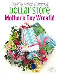 mother s day wreaths last minute diy how to make a mother s day wreath
