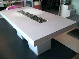 concrete coffee table living for modern and wood extra large co