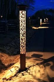 garden lighting bollards.
