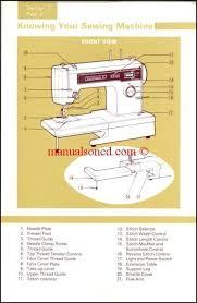 Kenmore 30 Stitch Sewing Machine Manual