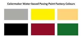Water Based Paving Paint_factory_colours Colormaker Industries