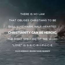 Christian Sacrifice Quotes