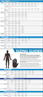 Head Mittens Size Chart Sizing Charts Desktop Castle X Snow And Motorcycle Apparel