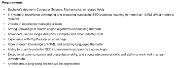 what recruiters need to learn about posting a job description from seo best practices for writing job requirements