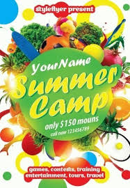 Summer Camp Psd Flyer Template 8921 Styleflyers