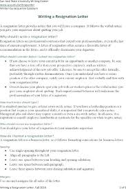 Professional Resignation Letter Template Templates Design