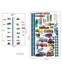 Cars Height Chart 02 Disney Wallsticker Buy Cars Height