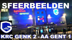 KRC GENK 2 - 1 AA GENT (55 Minuten Sfeerbeelden na de Match) 6 April 2019 -  YouTube