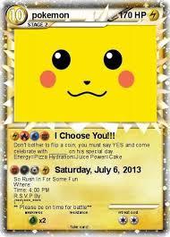 My Pokemon Birthday Invitation Pokemon Pinterest Pokemon