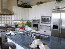 chic blue kitchen counters your home inspiration blue granite countertops white cabinets blue pearl
