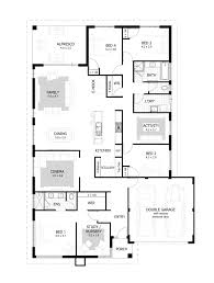 4 bedroom house designs. Interesting Bedroom 17 Metre Wide Home Designs Celebration Homes M House And 4 Bedroom H