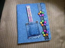 denim p book free tutorial with pictures on how to make a denim book cover