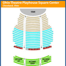 State Theater Seating Chart Playhouse Square Keybank State Theatre Seating Chart