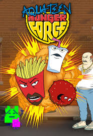 Aqua teen hunger force title