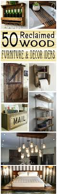 wood decorations for furniture. Reclaimed Wood Furniture And Decor Decorations For