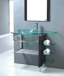 Modern Bathroom Vessel Sinks Sink Bowls With Vanity  On Top Of9