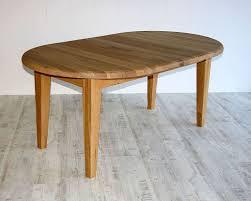 Details Zu Massivholz Tisch Rund Ausziehbar 105cm Neu Eßtisch Eiche Küchen Auszugtisch Holz