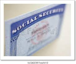 Fa12603749 Free Focusing Print Security Card Selective Card Art Freeart Of Social With Real