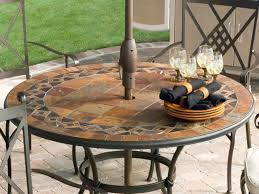 full size of diy tile table top patio furniture 5 piece slate tile top round patio