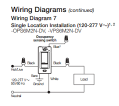 dv dt lutron wiring diagram electrical is there a motion sensor light switch that does not neutral wire required wiring