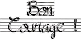 GIF 01 Bon Courage Francés Mensajes
