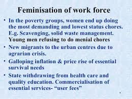 feminization of poverty 5 6