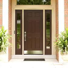 modern front door handlesFront Doors  Exquisite Brown Mahogany 6 Panels Craftsman Single