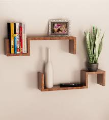 Small Picture Mango Wood Set of 2 Wall Shelves by Home Sparkle Online Wall