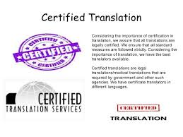 Certified Translations And Their Importance Website Testing Group