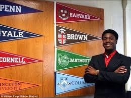long island student kwasi enin got into every ivy league school  now that s high achievement kwasi enin 17 a senior at william floyd high school