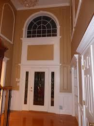 office wainscoting ideas. Wainscoting Ideas For Foyer Door Casing Window Open Doorway On Story Lighting Images Chandeliers Office D