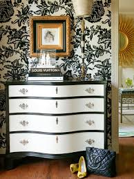 Louis Vuitton Wallpaper For Bedroom 15 Black And White Bedrooms Hgtv